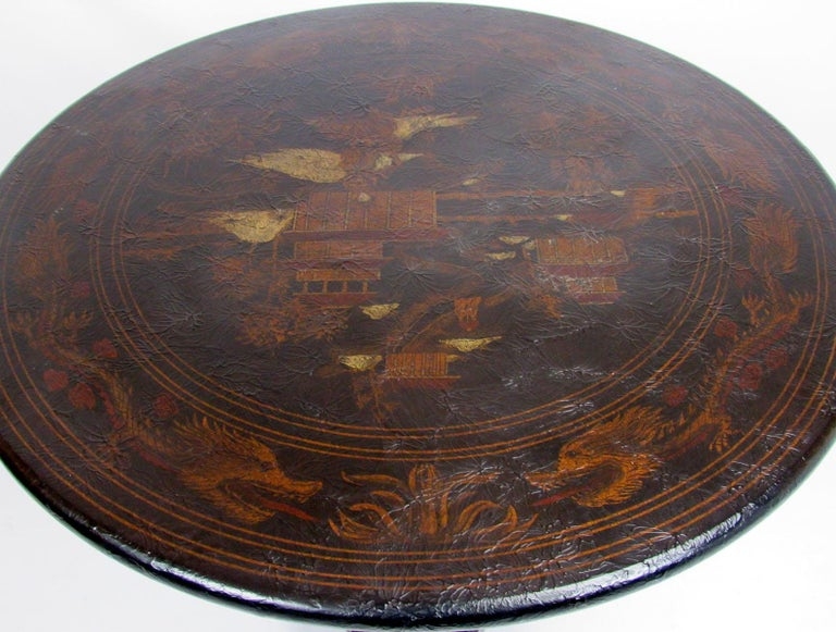 20th Century Chinoiserie Style Side Table For Sale 5