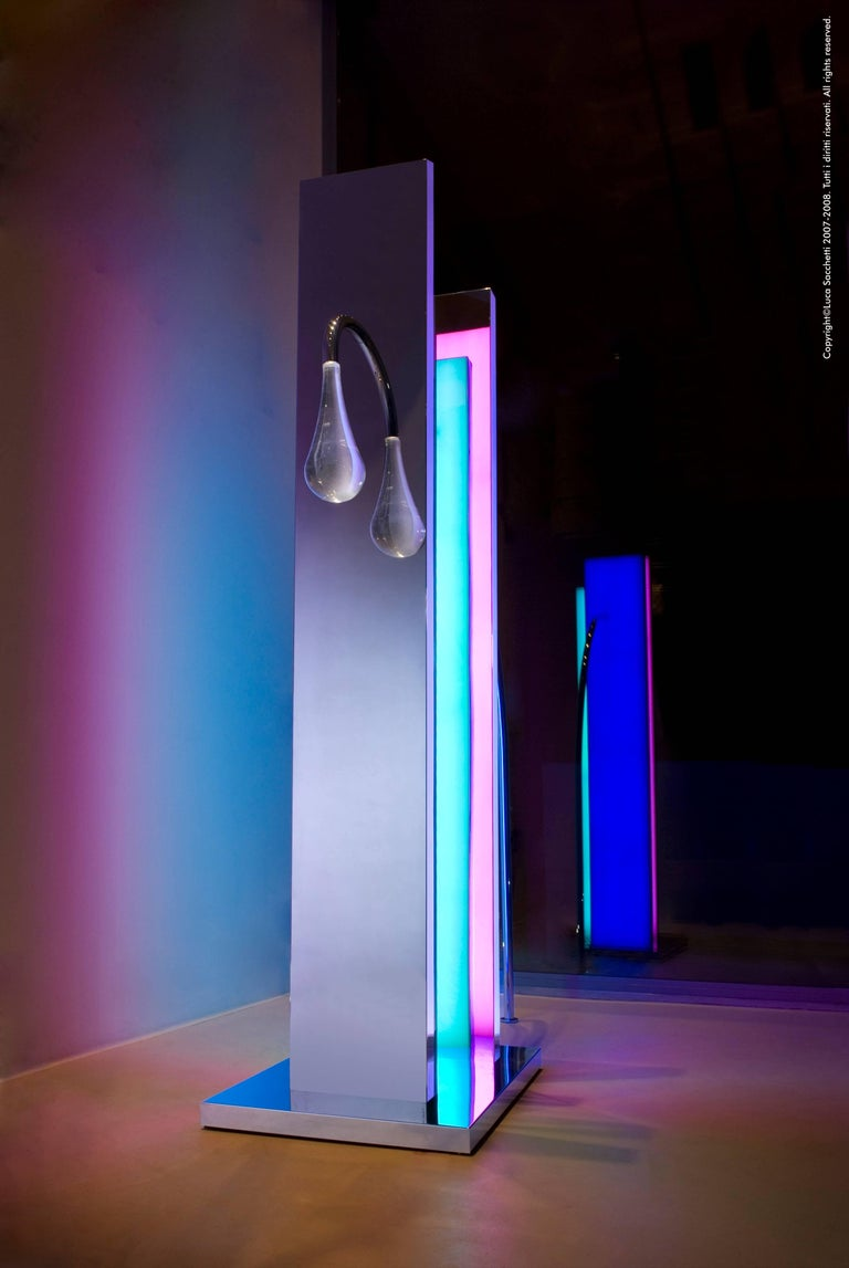 Other Cry in the City of Tokyo Luminous Sculpture with Led Lightings For Sale