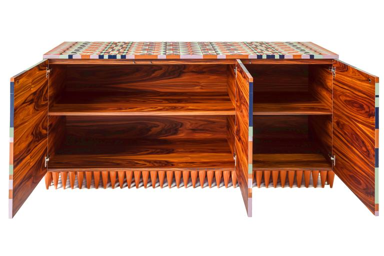 Other Contemporary Handcrafted Ziggy Cabinet by Leonardo Di Caprio  For Sale
