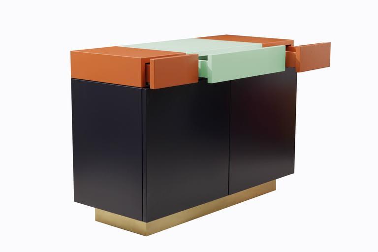 Other Greta Cabinet by Leonardo Di Caprio for Aucap For Sale