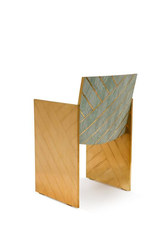 Other Nesso Dining Chair Mint by Matteo Cibic for Scarlet Splendour For Sale