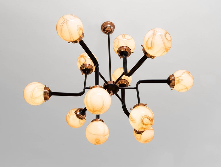 Other Ziron Handmade Chandelier by Merve Kahraman For Sale