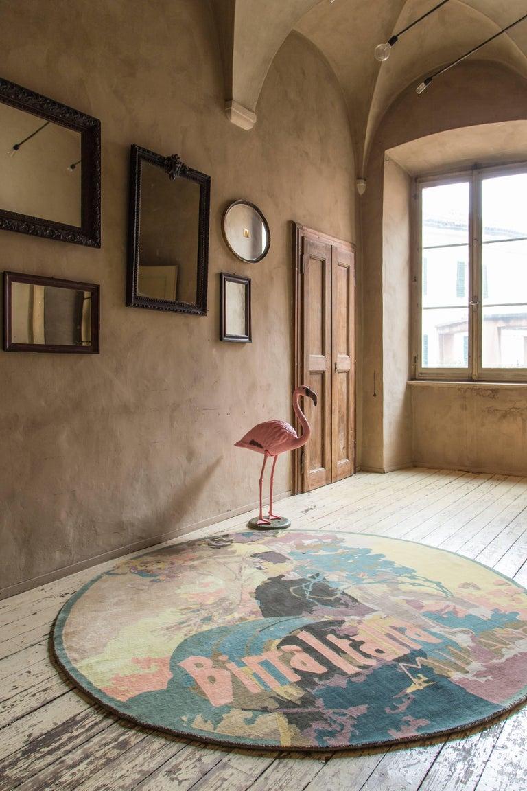 Cin Cin carpet by Vito Nesta  Hand-knotted wool