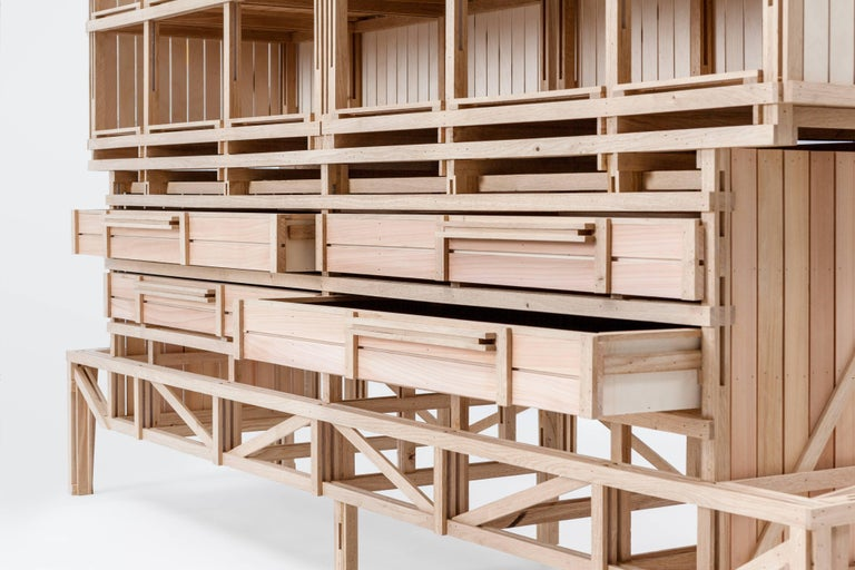 Cathedral Cabinet by Paul Heijnen, Handmade in Netherlands 5