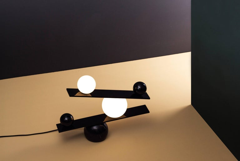 Balance Table Lamp by Victor Castanera for Oblure In New Condition For Sale In Firenze, IT