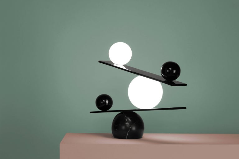 Balance Table Lamp by Victor Castanera for Oblure For Sale 1