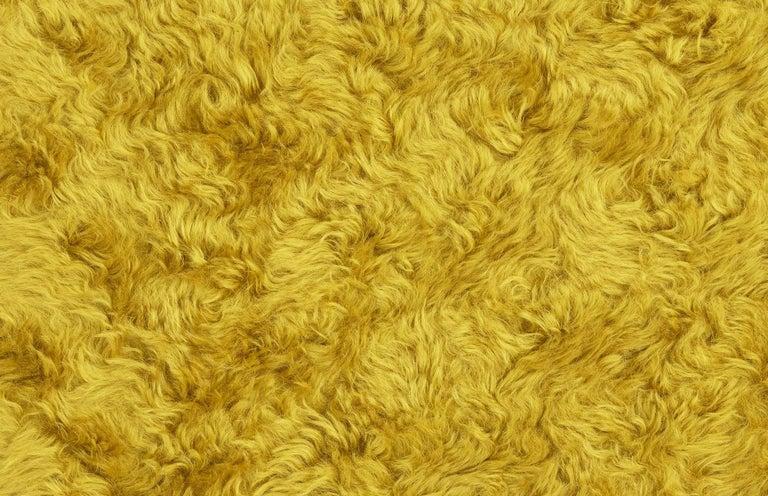 Uni Yellow and Pink Armchair by Merve Kahraman 2