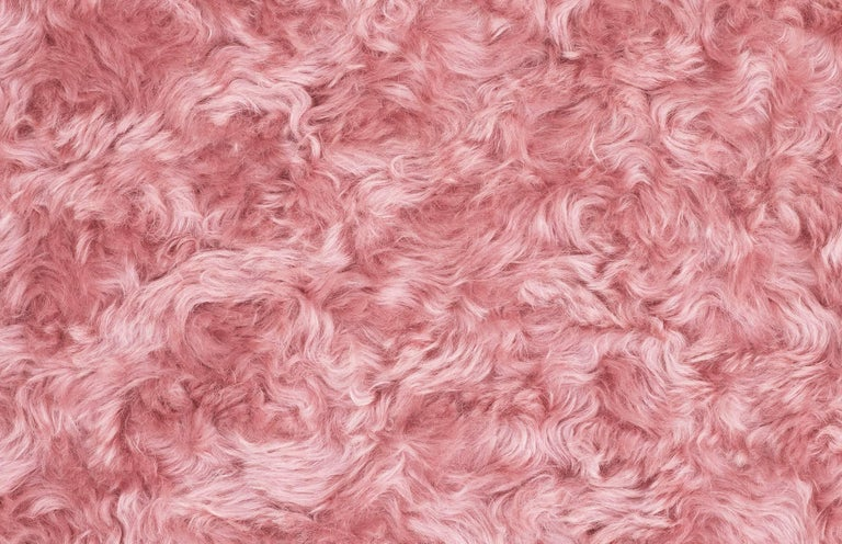 Uni Yellow and Pink Armchair by Merve Kahraman 3