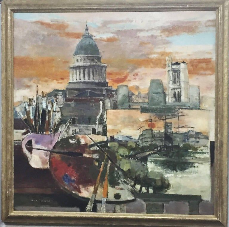 Michel Rodde (1913-2000) was a highly acclaimed French artist, honored and awarded numerous times in France and worldwide during his lifetime. He mainly received international recognition for his Modern Impressionist style, exhibited so well in this