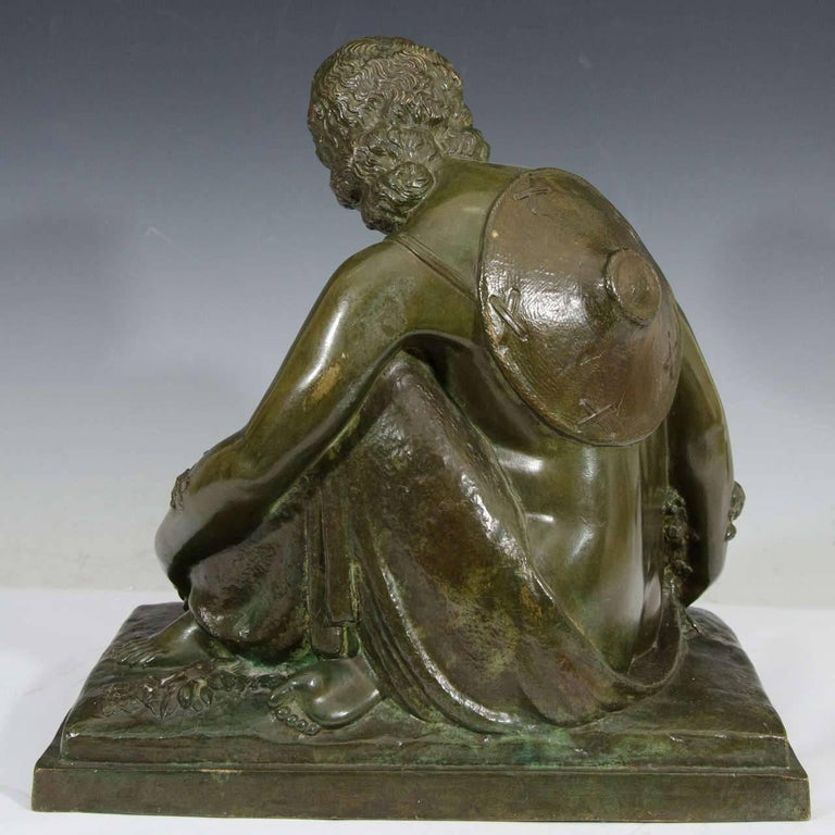 Marcel-André Bouraine, Nude, French Art Deco Bronze Sculpture, circa 1920s For Sale 1