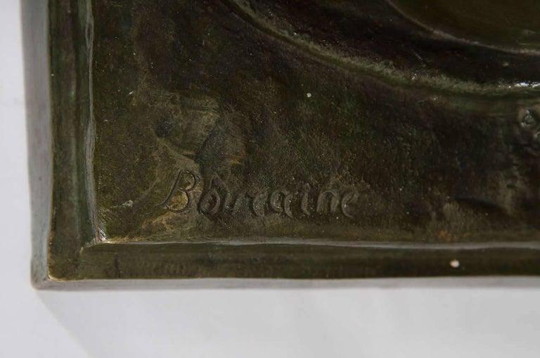 Marcel-André Bouraine, Nude, French Art Deco Bronze Sculpture, circa 1920s For Sale 2