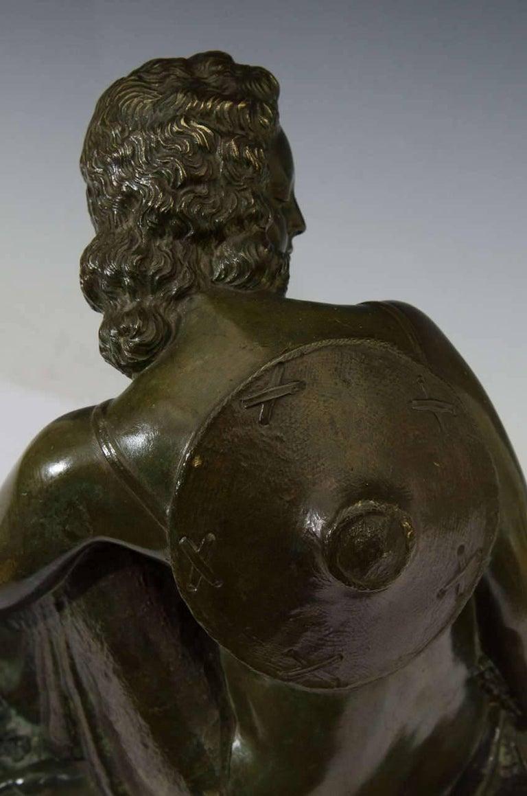 Marcel-André Bouraine, Nude, French Art Deco Bronze Sculpture, circa 1920s For Sale 3