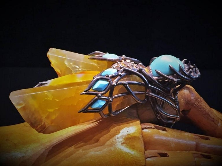 Other Val Stern, Mythical Wasp, Sculptural Ring, 21st Century For Sale