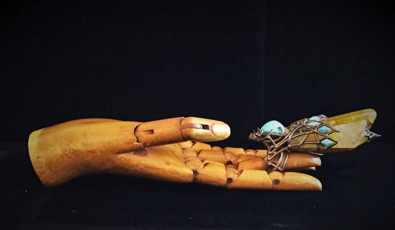 American Val Stern, Mythical Wasp, Sculptural Ring, 21st Century For Sale