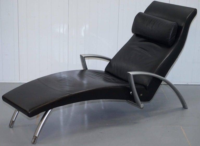 Stunning Rolf Benz Creation 2600 Black Leather