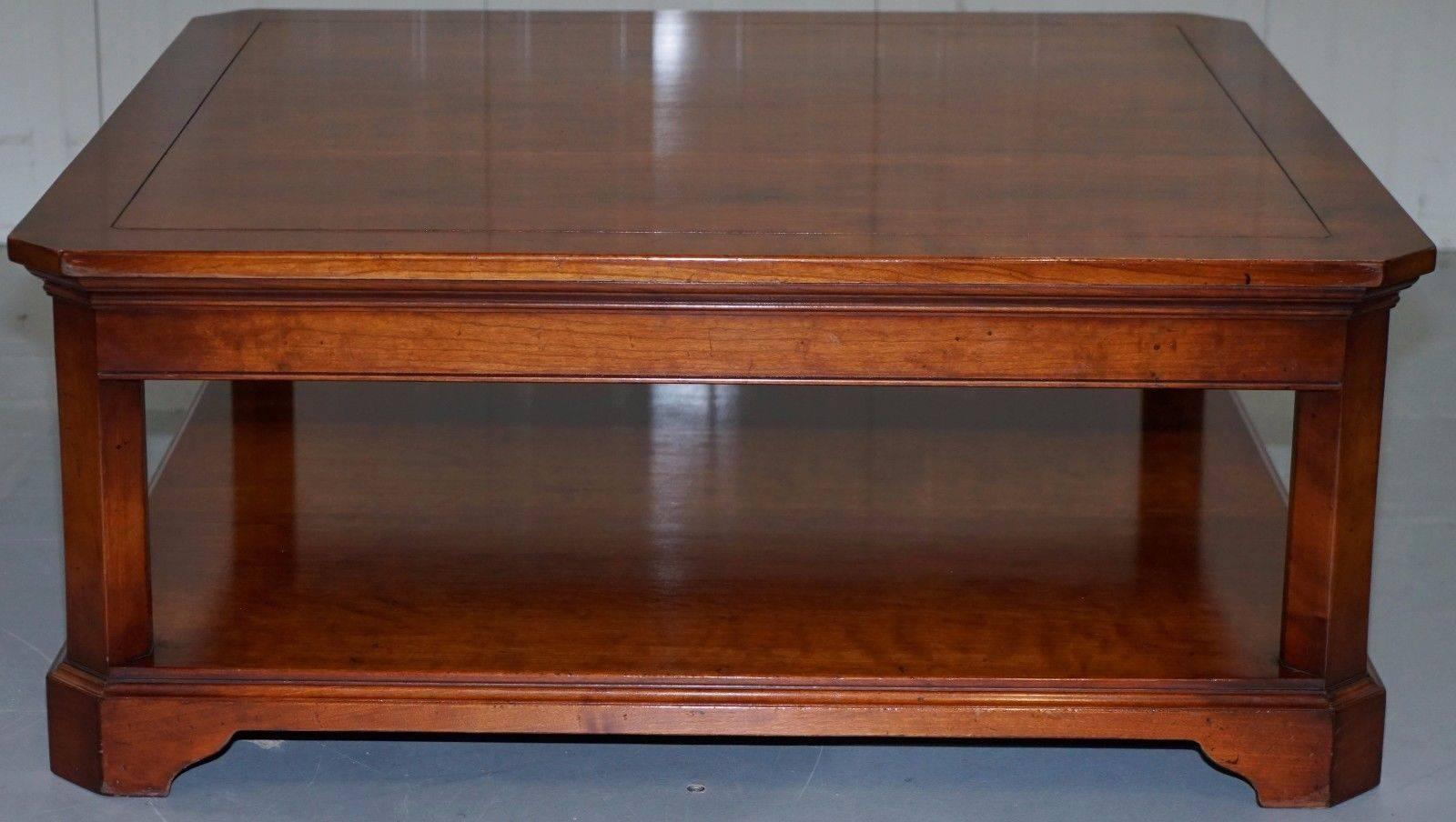 Delicieux Rare Harrods London Original Rare Cherrywood Coffee Table Kennedy