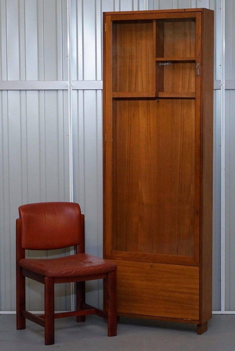 Pedley Saffron Walden Mahogany Gun Cabinet Case Three Locks At 1stdibs