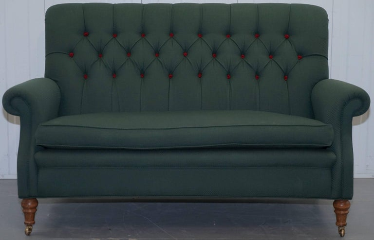 We Are Delighted To Offer For This Lovely Wellington Model Howard Style Chesterfield Oned Two