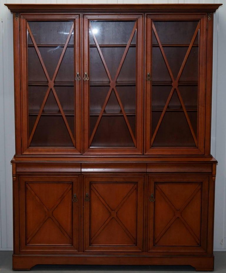 We Are Delighted To Offer For This Very Nice Cherry And Hardwood Welsh Dresser Display