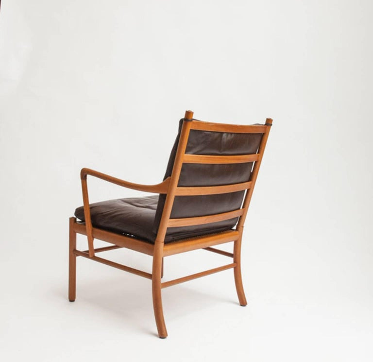 Danish Colonial Chair by Ole Wanscher For Sale