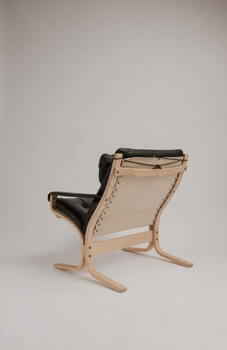 Norwegian Siesta Chair and Ottoman by Ingmar Relling For Sale