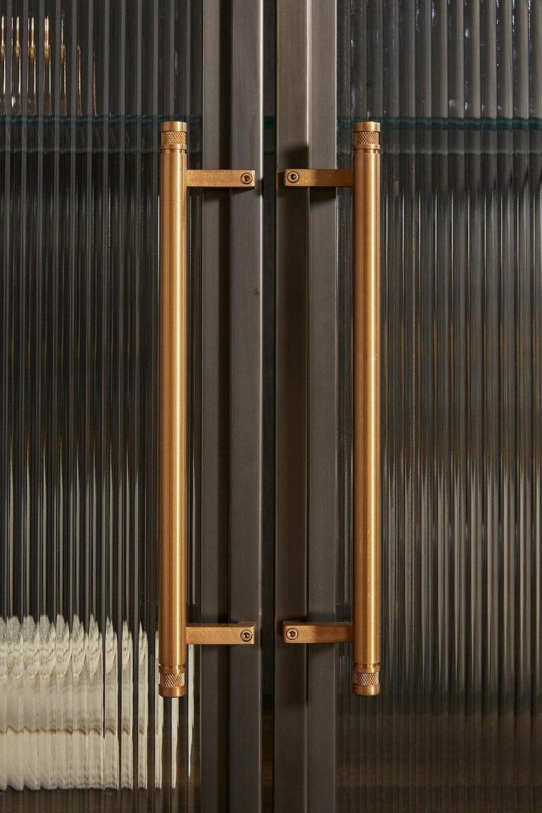 Industrial Amuneal's Frankford Gunmetal Hutch For Sale