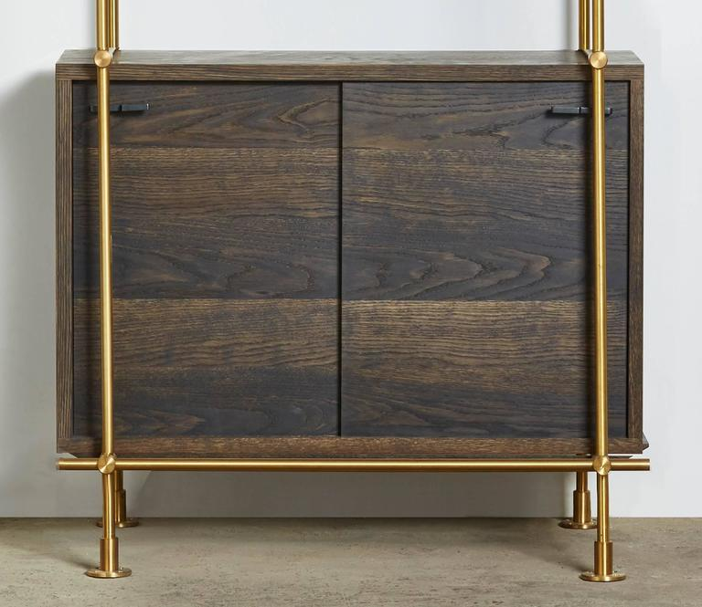 Amuneal's Collector's 1 Bay with Credenza In New Condition For Sale In New York, NY