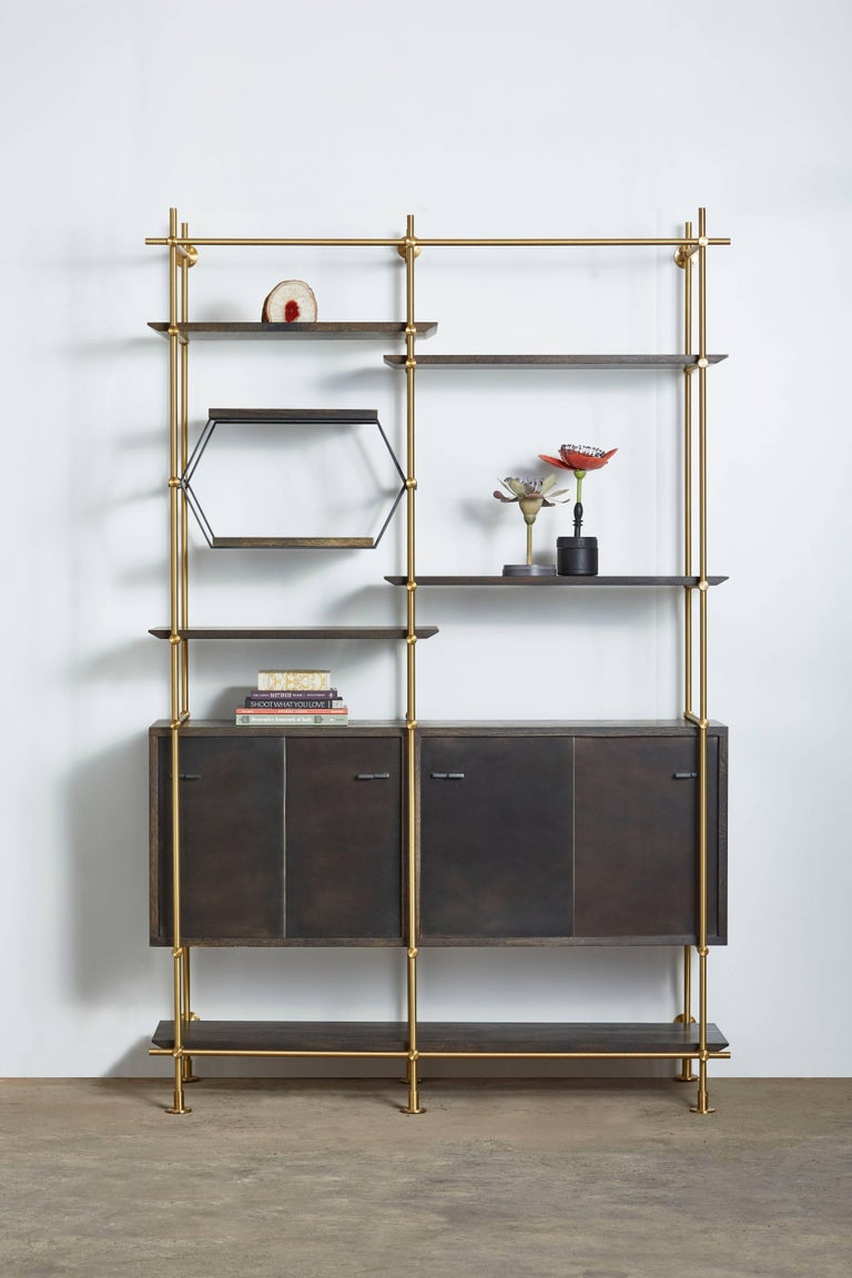 Metalwork Amuneal's Collector's 2 Bay Unit For Sale