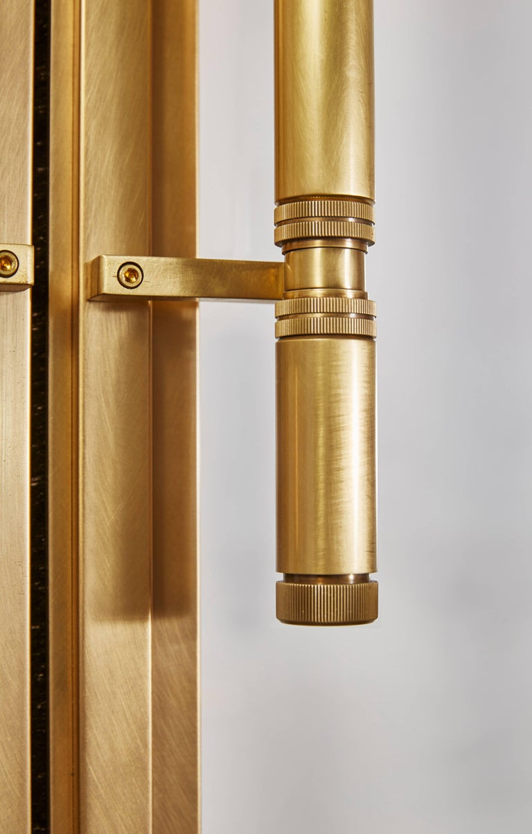 American Amuneal's Frankford Bronze + Glass Door Set For Sale