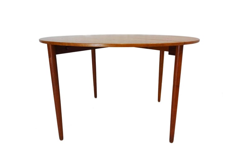 1956 Poul M Volther Drop Leaf Midcentury Dining Console