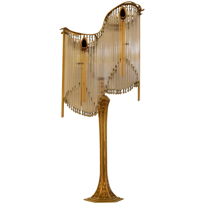 Art Nouveau Guimard's Lamp