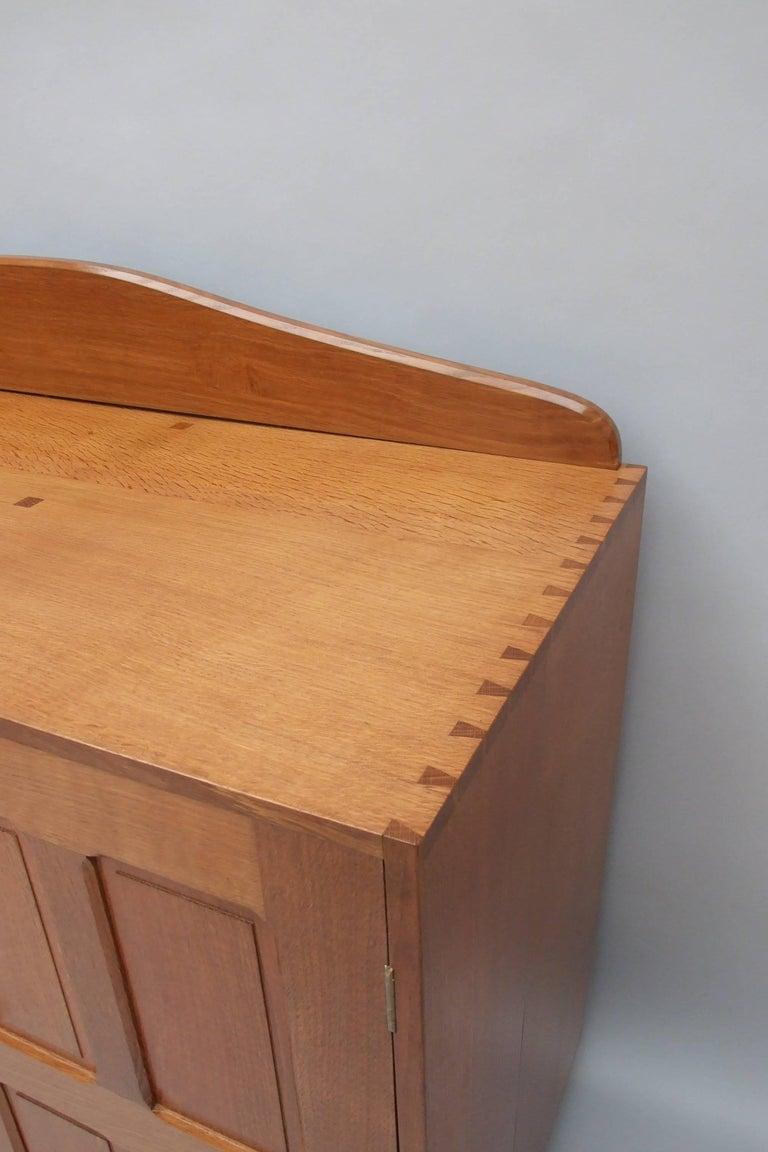 Arts and Crafts Arts & Crafts Oak Sideboard For Sale