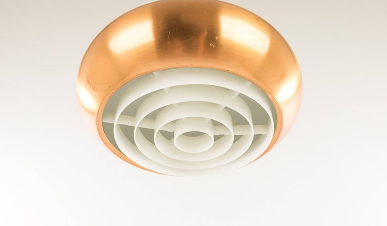 Orient Minor pendant by Jo Hammerborg for Fog & Mørup, 1960s In Good Condition For Sale In Rotterdam, NL