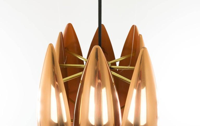 Danish Copper Kastor Pendant by Jo Hammerborg for Fog & Mørup, 1960s For Sale