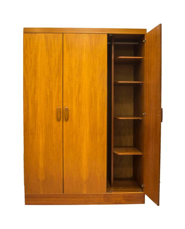 G plan e gomme quadrille wardrobe 1960 mid century bedroom for G plan bedroom furniture for sale
