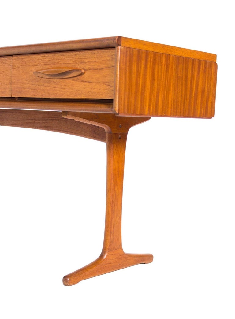 Austinsuite Teak Sideboard Console Table Retro For Sale At 1stdibs