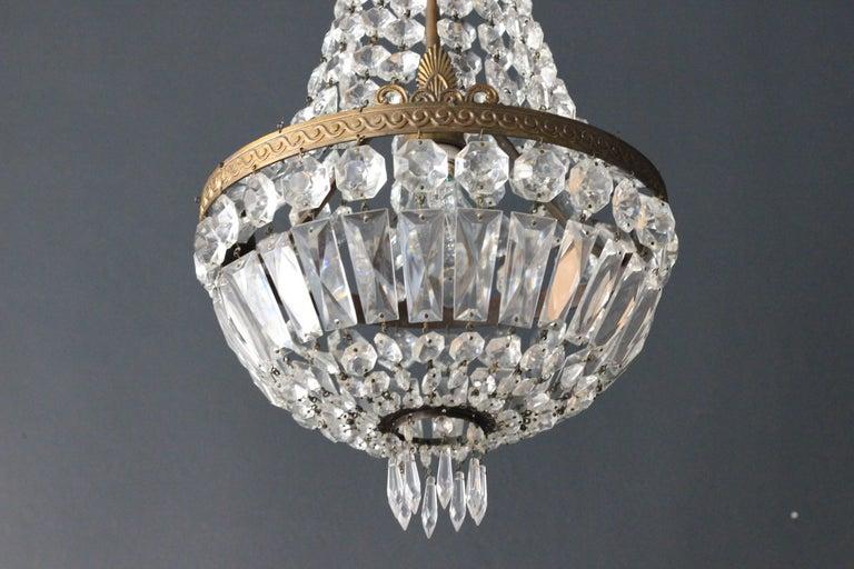 Kronleuchter Kristall Silber ~ Sac a pearl kristall kronleuchter im angebot bei 1stdibs