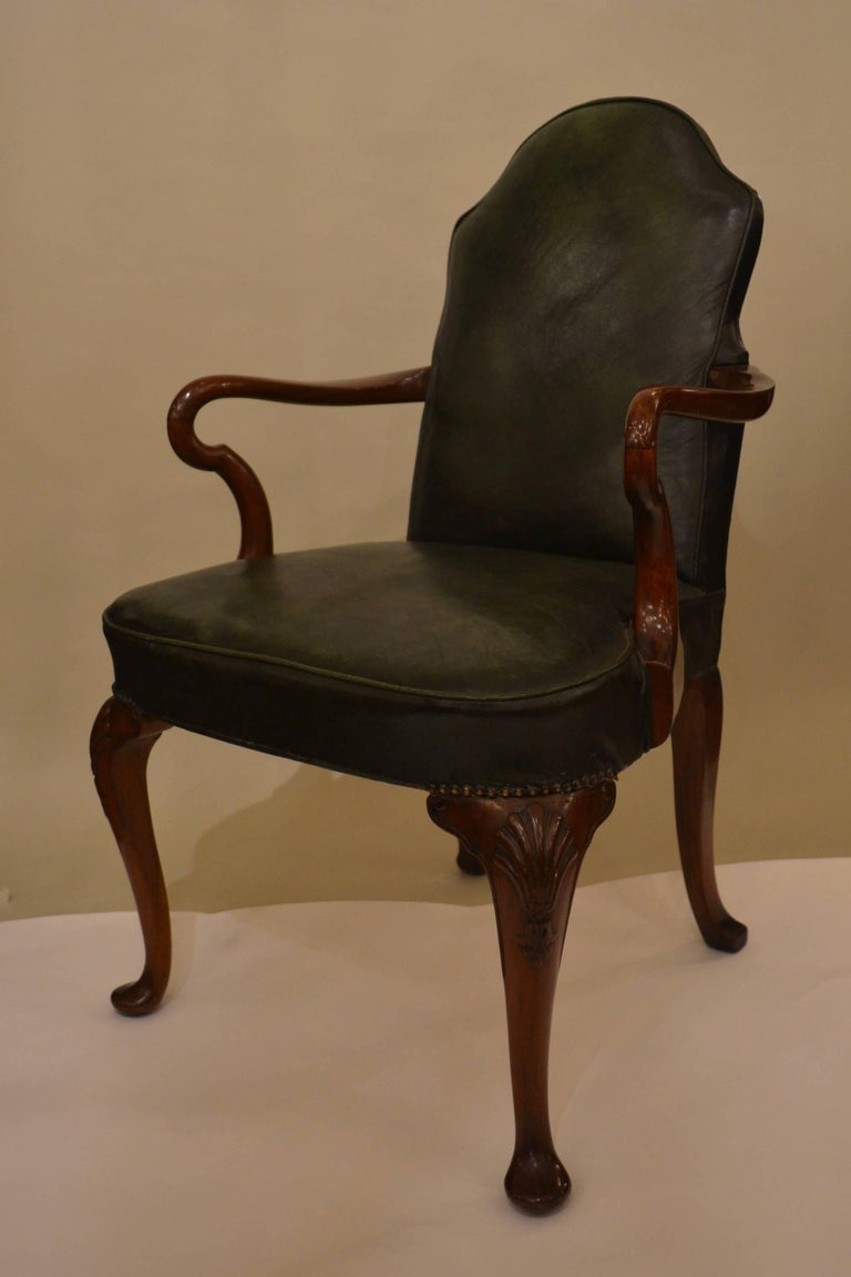 old armchairs for sale pair of antique leather armchairs for at 1stdibs 3617