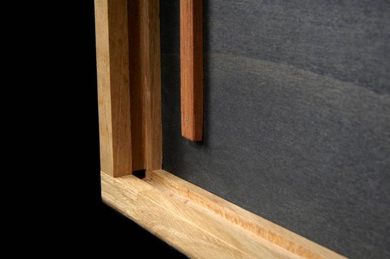 sideboard cabinet ba black and white by julien ebeniste bordeaux for sale at 1stdibs. Black Bedroom Furniture Sets. Home Design Ideas