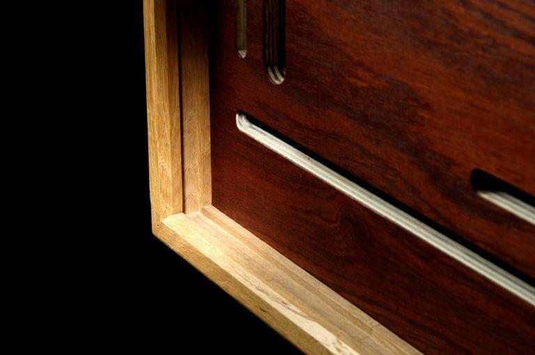 french little sliding door cabinet for tv and sound by julien ebeniste bordeaux for sale at 1stdibs. Black Bedroom Furniture Sets. Home Design Ideas