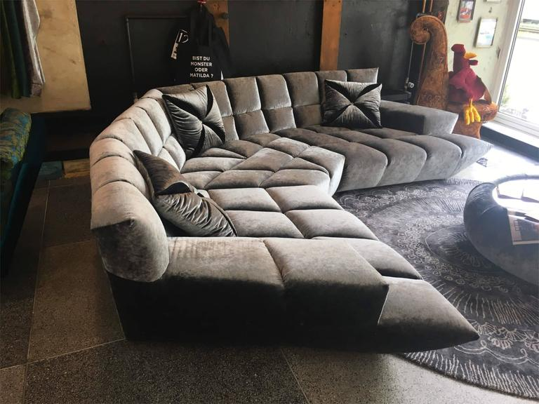 bretz german manufacture sofa cloud exceptional furniture at 1stdibs. Black Bedroom Furniture Sets. Home Design Ideas