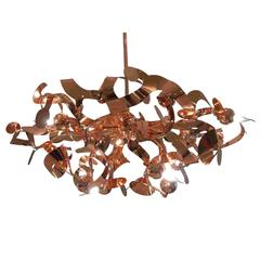 Brand van Egmond Luxury Hanging Lamp Kelp Copper