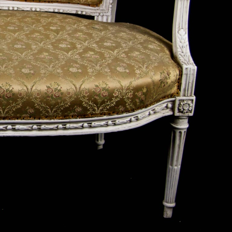 Late 19th Century Antique Swedish Gustavian Sofa, Three-Seat In Good Condition For Sale In LONDON, GB