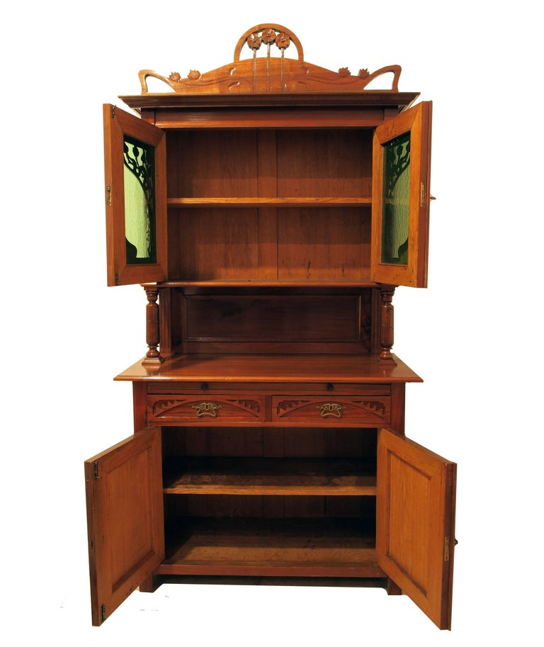 art nouveau buffet for sale at 1stdibs. Black Bedroom Furniture Sets. Home Design Ideas