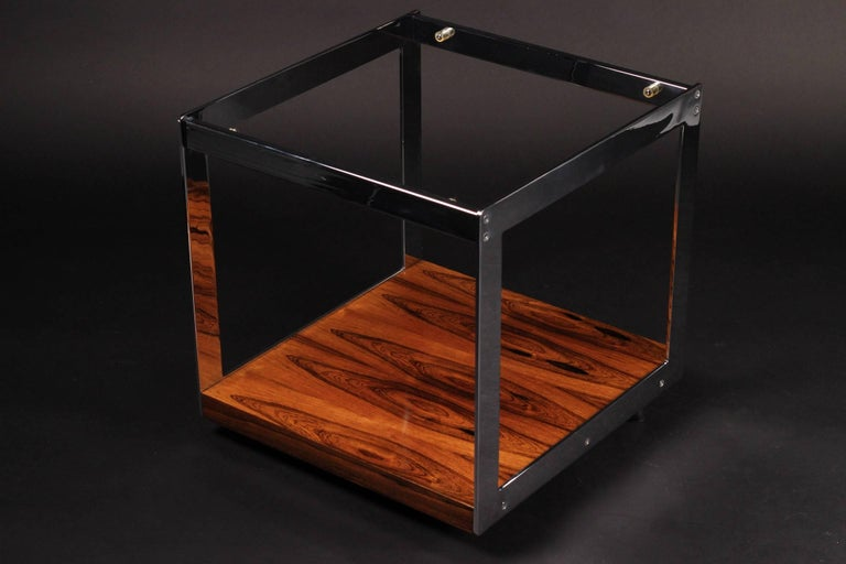 Modern Merrow Rosewood Side Table For Sale