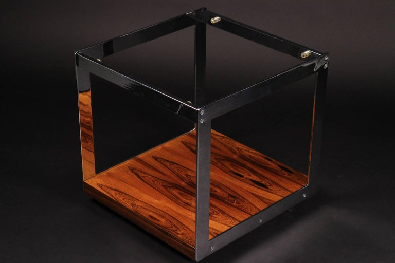 English Merrow Rosewood Side Table For Sale