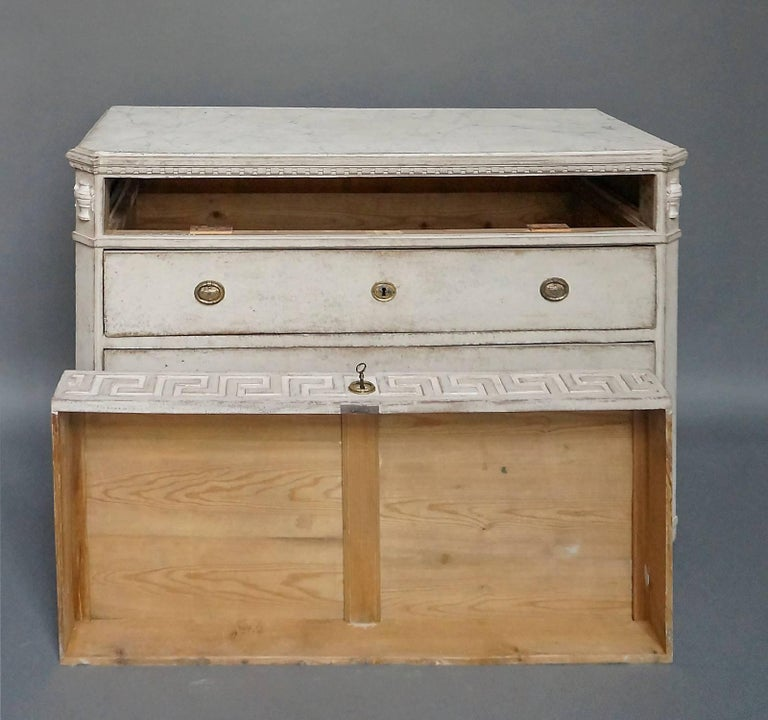 19th Century Four-Drawer Neoclassical Commode