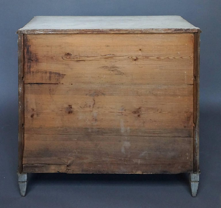 19th Century Gustavian Style Chest of Drawers For Sale