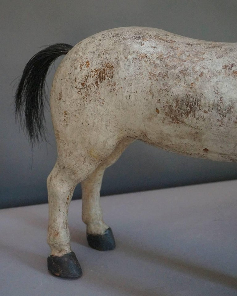 Swedish Toy Horse from the Gemla Factory For Sale 1