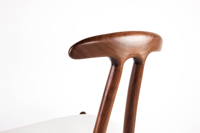 Oiled Bianca Side Chair in Walnut, Ash or Oak For Sale